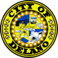 Seal of Delano, California.png