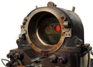 Union Switch & Signal - Image: Searchlight Signal Mechanism