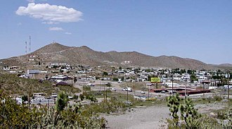 Searchlight, Nevada - View of Searchlight, from the southwest