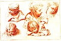 Sebastiano Ricci Kinderköpfe nach Watteau 1716.jpg