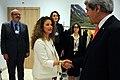 Secretary Kerry Greets Al Arabiya Host Maktabi Before Interview in Switzerland (12103879954).jpg