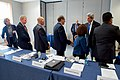 Secretary Kerry Shakes Hands With Business Leaders Before Speaking About the Future of Job Creation at MIT's Innovation Forum (31402094693).jpg