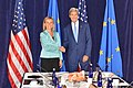 Secretary Kerry and EU High Representative Mogherini Pose for a Photo Before Their Meeting in New York City (21825001666).jpg