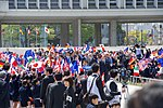 Secretary Kerry and His G7 Counterparts Pass School Children Upon Arrival at the Hiroshima Peace Memorial Park (26296899251).jpg