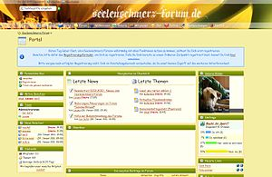 English: Screenshot of the Forum Deutsch: Scre...