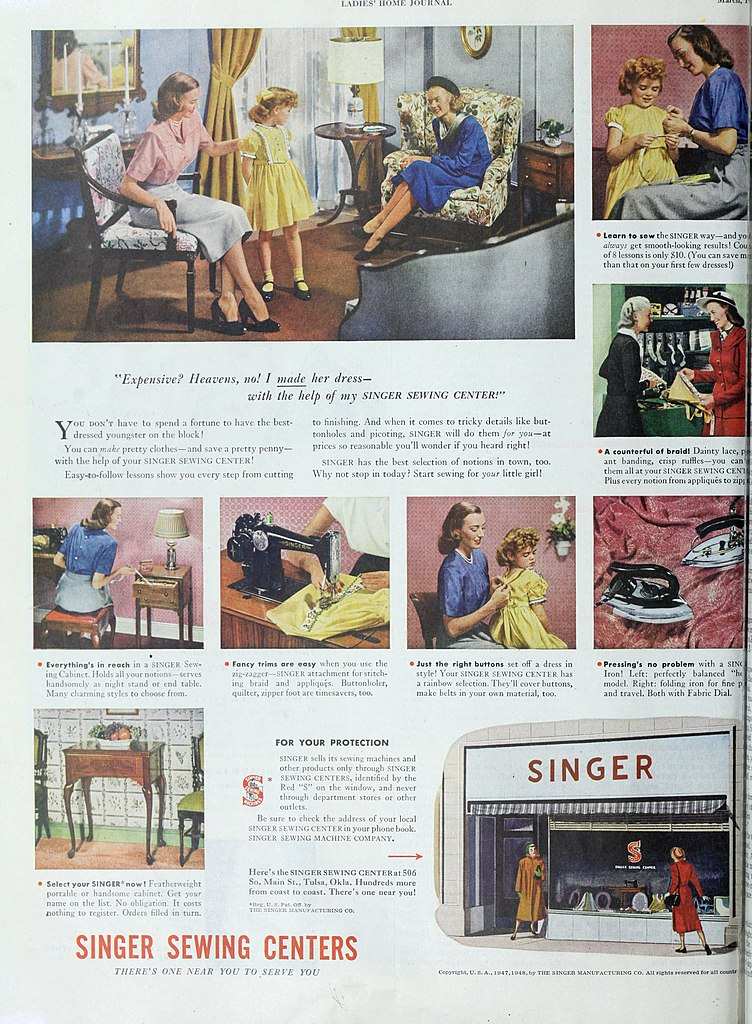 File:Select your Singer now, 1948 jpg - Wikimedia Commons