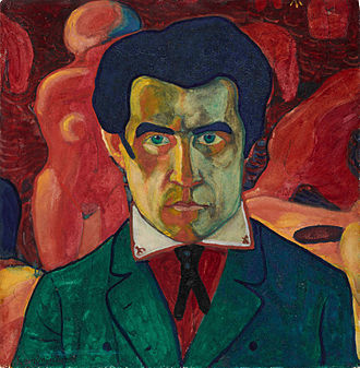 Saint Petersburg Union of Artists - Image: Self Portrait (1908 or 1910 1911) (Kazimir Malevich)