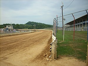 Selinsgrove Speedway - The frontstretch