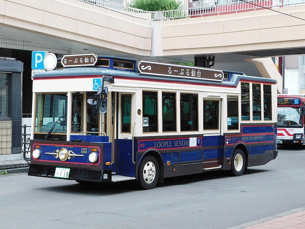 Sendai-city-bus-118