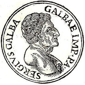 Servius Sulpicius Galba (praetor) - Servius Sulpicius Galba from Promptuarii Iconum Insigniorum