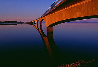 Norrbotten archipelago - Image: Seskaro bridge