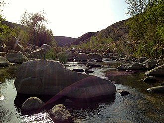 Sespe Creek - Sespe Creek flowing through the Sespe Wilderness