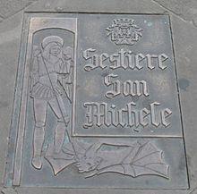 Raffigurazione del sestiere locale