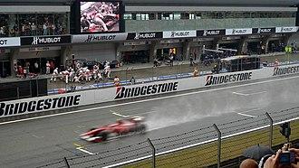 Shanghai International Circuit - Image: Shanghai Circuit Main Grandstand o