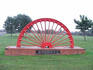 Sharlston - Image: Sharlston Winding Wheel