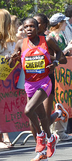 Sharon Cherop Kenyan long-distance runner