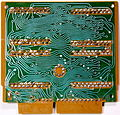 Sharp EL-8 The Calculating Board with 4 Rockwell LSI Integrated Circuits solder side.jpg