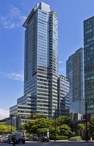 Shaw Tower (Vancouver) - Shaw Tower is the tallest tower in Vancouver's Coal Harbour waterfront.