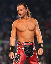 Shawn Michaels beim WrestleMania XXIV Event im Jahr 2008.
