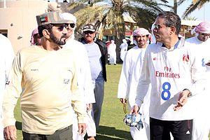 Mohamed Alabbar - Dubai Crown Prince Endurance Cup 23 March 2013