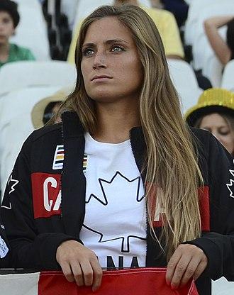 Shelina Zadorsky - Image: Shelina Zadorsky 2016 Olympics (cropped)