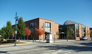 Sherwood, Oregon - The library in downtown