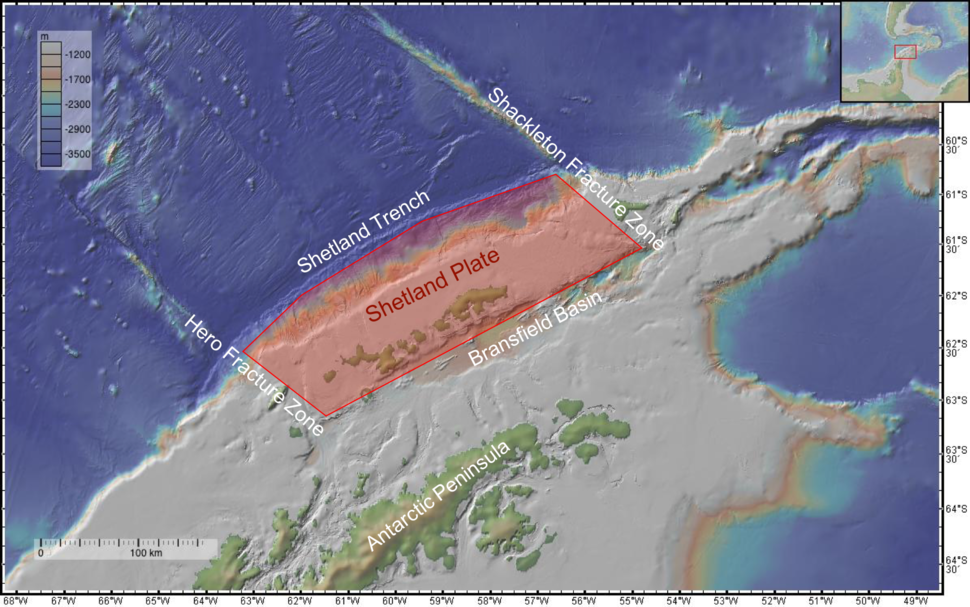 Shetland Plate Boundries