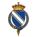 Shield of arms of Hugh Fortescue, 2nd Earl Fortescue, KG, PC.png