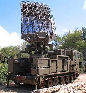 Counter-battery radar - Israeli Shilem counter-battery radar