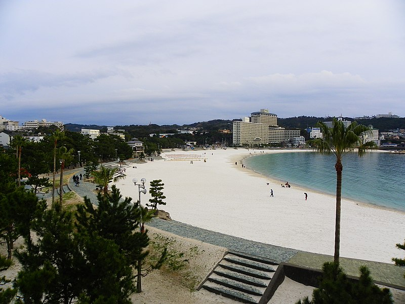 File:Shirahama Beach Feb2010.jpg