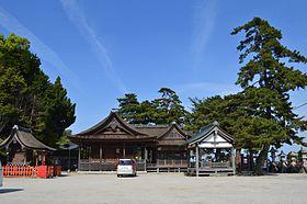 Shirahige-jinja (Takashima) keidai.JPG