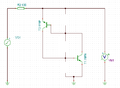 Shockley Diode equivalent circuit simulation - without resistors z- diode.PNG