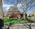 Shops and tree and sky and mailbox in Basking Ridge New Jersey.JPG
