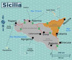 Cartina Dettagliata Sicilia Orientale.Sicilia Nordorientale Wikivoyage Guida Turistica Di Viaggio
