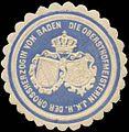 Siegelmarke Die Obersthofmeisterin I.K.H. der Grossherzogin von Baden W0356341.jpg