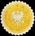 Siegelmarke Direktion der Provinzial - Heil - und Pflegeanstalt zu Rybnik W0227299.jpg
