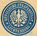 Siegelmarke Königliche Strafanstalt - Lichtenburg W0223162.jpg