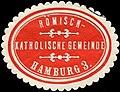 Siegelmarke Römisch - Katholische Gemeinde - Hamburg W0226684.jpg