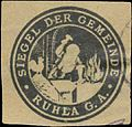 Siegelmarke Siegel der Gemeinde Ruhla G.A. W0392498.jpg