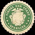 Siegelmarke Siegel der Stadt - Strelitz W0215167.jpg