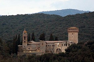 Monastery of the Holy Saviour - Image: Siena Lecceto Eremo San Salvatore 2