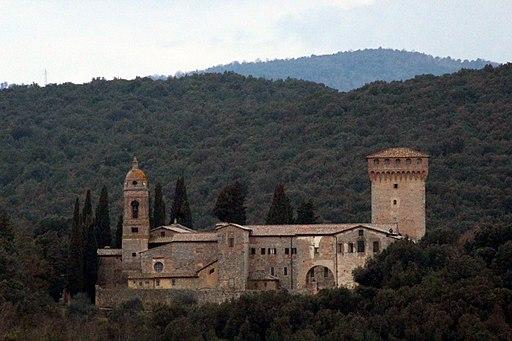 L'eremo di San Salvatore di Lecceto, Montagnola Senese, Siena