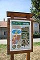 Sign Droba at Geopark Rájec in Rájec-Jestřebí, Blansko District.jpg