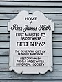 Sign on Reverend James Keith Parsonage.jpg