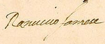 Signature of Ranuccio I Farnese, Duke of Parma.png