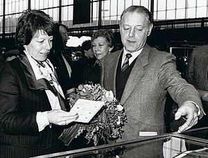 Neelie Kroes - Image: Simons en Kroes St Fiets!