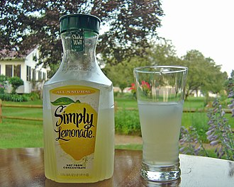 Minute Maid - Simply Lemonade