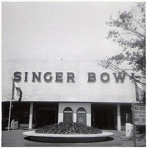 Singer Bowl - Entrance during the 1964 New York World's Fair