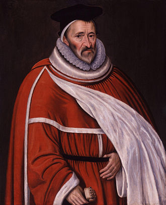 Court of Common Pleas (England) - Image: Sir Edmund Anderson from NPG