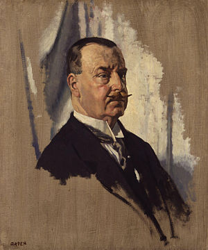 Joseph Ward - A portrait of Ward by Sir William Orpen.